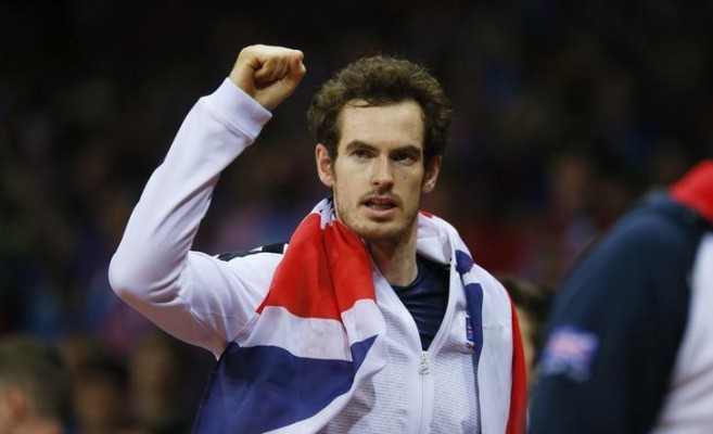 Rediff Sports - Cricket, Indian hockey, Tennis, Football, Chess, Golf - Andy Murray to carry British flag at Rio Opening Ceremony
