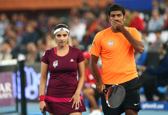 Rediff Sports - Cricket, Indian hockey, Tennis, Football, Chess, Golf - Controversy-marred Indian tennis too carries the medal hopes