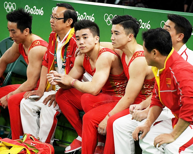 Members of Team China