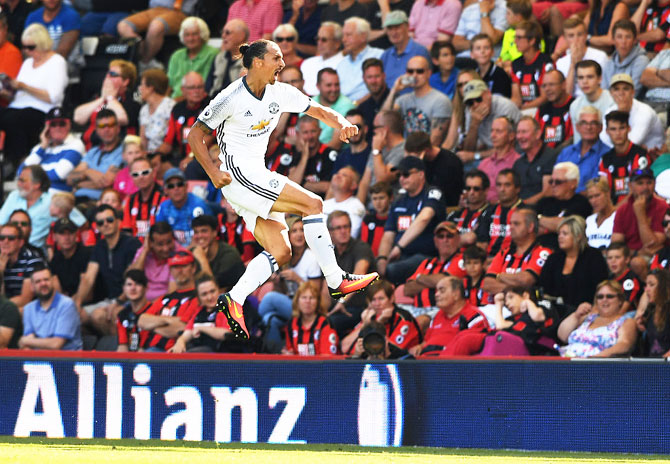 EPL: Ibra scores in United victory; Liverpool edge Arsenal in thriller