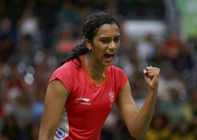 Rediff Sports - Cricket, Indian hockey, Tennis, Football, Chess, Golf - Sports Shorts: Sindhu progresses to Thailand Open semifinals