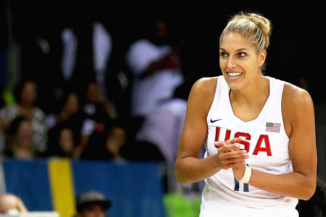 USA basketball player Elena Delle Donne is one of the many openly gay athletes at the Rio Games