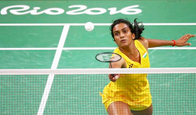 Rediff Cricket - Indian cricket - Sindhu sidesteps minister's offer, says Gopichand is 'the best coach'