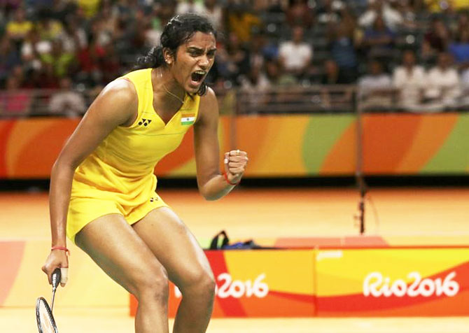 Rediff Sports - Cricket, Indian hockey, Tennis, Football, Chess, Golf - With Dubai Super Series in focus Sindhu pulls out of Macau Open
