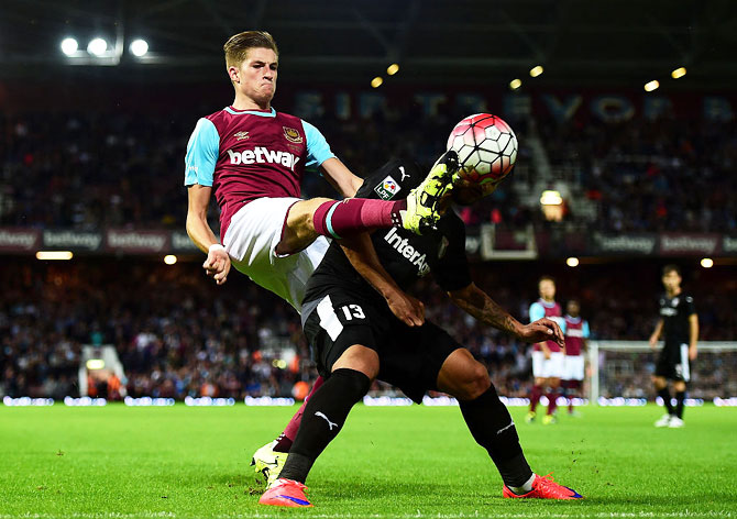 Reece Burke of West Ham