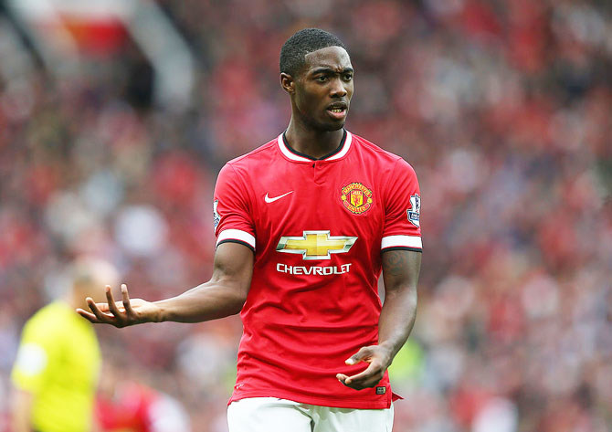 Tyler Blackett of Manchester United
