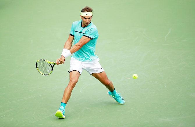 Rafael Nadal will return after losing last week's title in Cincinnati