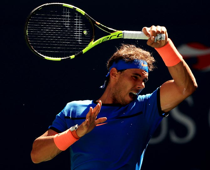 Rediff Sports - Cricket, Indian hockey, Tennis, Football, Chess, Golf - Nadal to play Queen's Championships