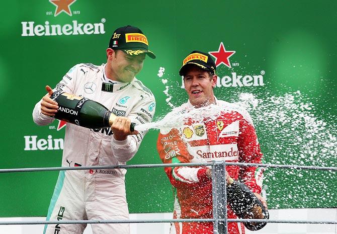 Will Ferrari's Vettel replace Rosberg at Mercedes?