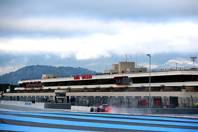 Rediff Sports - Cricket, Indian hockey, Tennis, Football, Chess, Golf - Formula One returns to France after 10-year absence