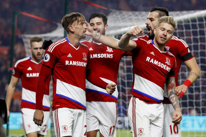 EPL: Middlesbrough edge Hull thanks to Ramirez header