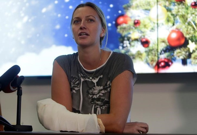 Rediff Sports - Cricket, Indian hockey, Tennis, Football, Chess, Golf - Sports Shorts: Czech police end probe into Kvitova stabbing case