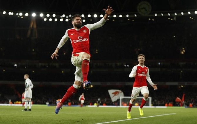 Arsenal's go-to guy, Giroud reminds Wenger of his worth