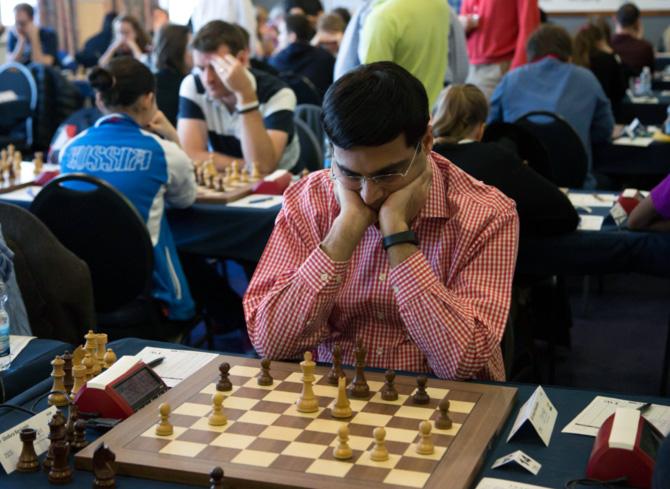 Rediff Sports - Cricket, Indian hockey, Tennis, Football, Chess, Golf - 16-year-old Hungarian shocks Vishy Anand at Gilbraltar Chess!