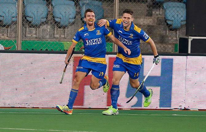 Rediff Sports - Cricket, Indian hockey, Tennis, Football, Chess, Golf - Hockey India League: Delhi slump to second straight home defeat
