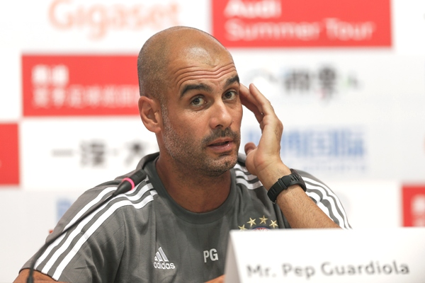 It's about the timing, Pep!