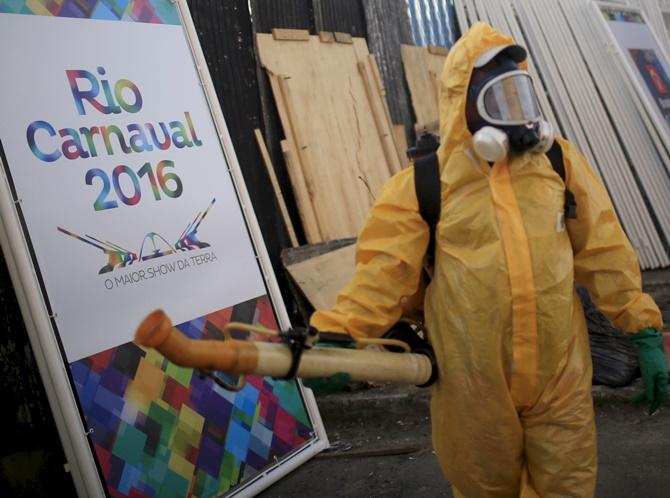 Rediff Sports - Cricket, Indian hockey, Tennis, Football, Chess, Golf - Will Zika virus keep athletes away from Rio Olympics?
