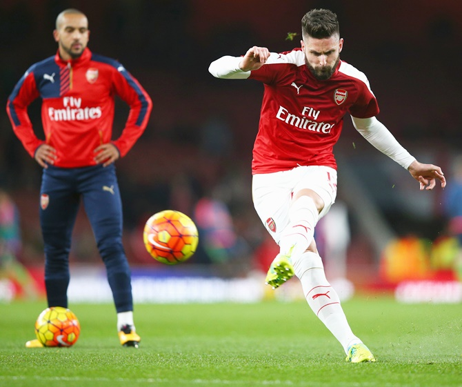 Rediff Sports - Cricket, Indian hockey, Tennis, Football, Chess, Golf - 5 Reasons why Arsenal's EPL title chances are fading...