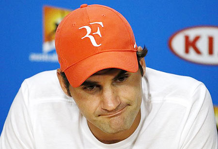 Rediff Sports - Cricket, Indian hockey, Tennis, Football, Chess, Golf - Modest hopes for Federer ahead of injury comeback