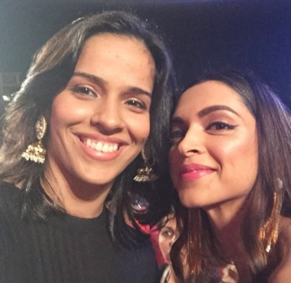 Rediff Sports - Cricket, Indian hockey, Tennis, Football, Chess, Golf - Saina picks Deepika as her FIRST choice for biopic