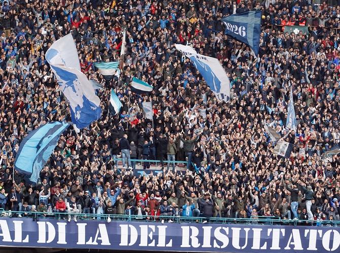 Racist chants overshadow Napoli's win