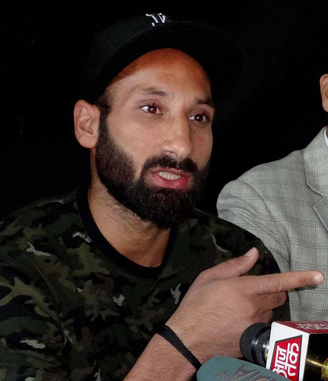 Rediff Sports - Cricket, Indian hockey, Tennis, Football, Chess, Golf - Sardar denies sexual harassment claims: 'We were good friends'