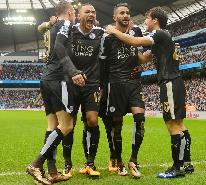 Rediff Sports - Cricket, Indian hockey, Tennis, Football, Chess, Golf - 'Whole country wants Leicester to win'