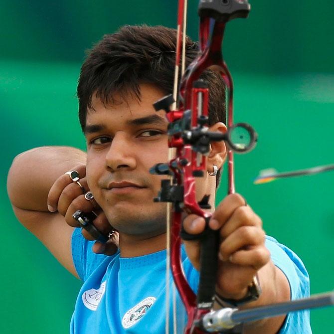 Rediff Sports - Cricket, Indian hockey, Tennis, Football, Chess, Golf - South Asian Games: Indian Archers hit bulls-eye