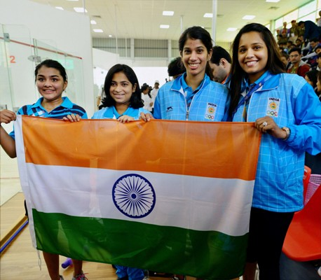 Rediff Sports - Cricket, Indian hockey, Tennis, Football, Chess, Golf - PHOTOS: India's gold-glut continues at South Asian Games