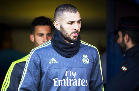 Real Madrid and France's Karim Benzema