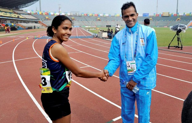 Rediff Cricket - Indian cricket - SA Games: Marathoner Raut qualifies for Olympics on another good day for India