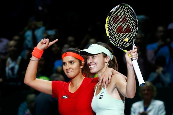 Rediff Sports - Cricket, Indian hockey, Tennis, Football, Chess, Golf - Sania-Martina to reunite for year-ending WTA Championships