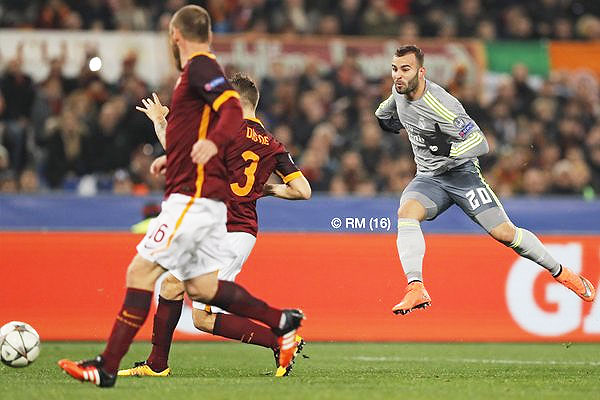 Real Madrid's Jese scores the 86th minute winner