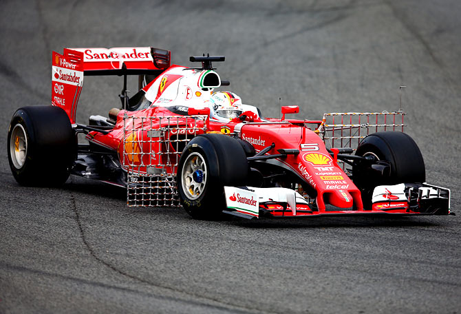 PHOTOS: Fun and games ahead as Formula One testing starts