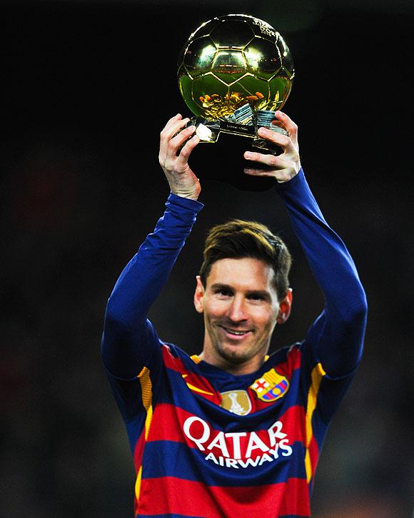 Messi, patrimonio del futbol