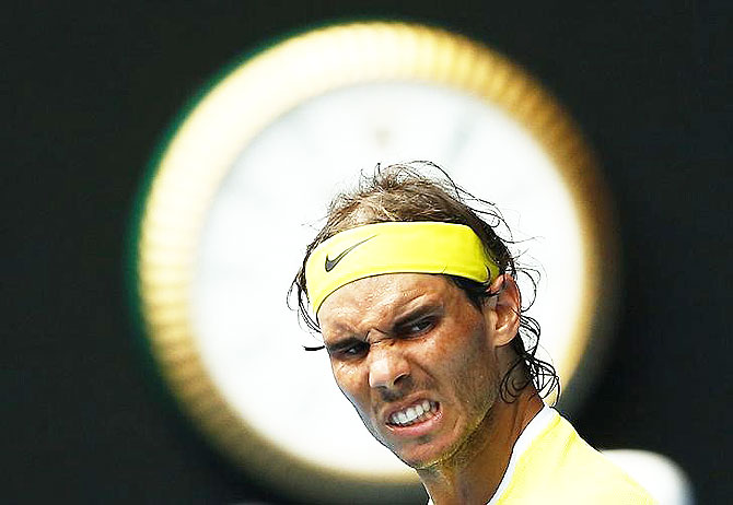 Rediff Sports - Cricket, Indian hockey, Tennis, Football, Chess, Golf - Nadal fumes over doping rumours post Sharapova controversy