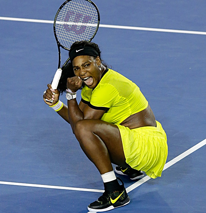 Rediff Sports - Cricket, Indian hockey, Tennis, Football, Chess, Golf - WTA Rankings: Serena still on top