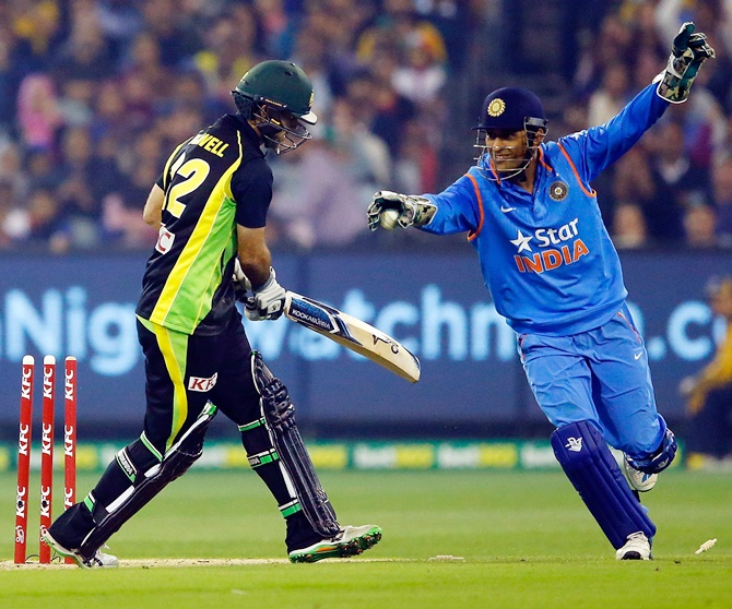 Rediff Sports - Cricket, Indian hockey, Tennis, Football, Chess, Golf - Stats Pack: Dhoni and India high at the MCG!