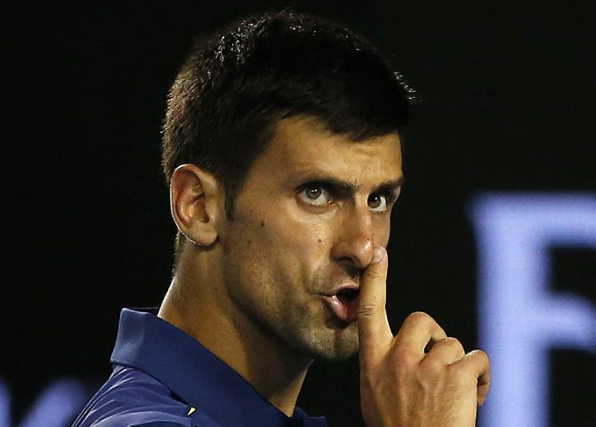 Rediff Sports - Cricket, Indian hockey, Tennis, Football, Chess, Golf - Rogers Cup: Djokovic survives scare to reach third round
