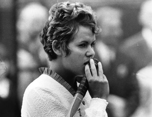 Evonne Goolagong (later Cawley) of Australia