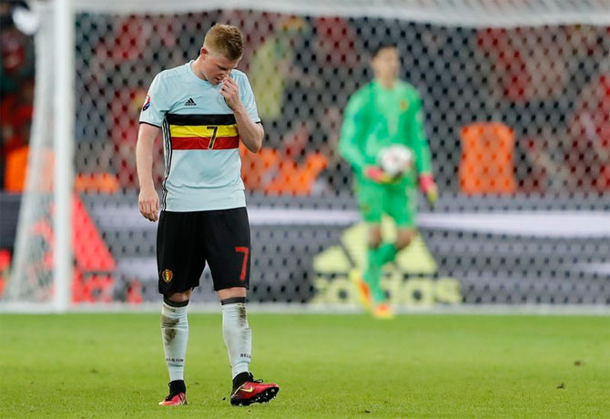 Rediff Sports - Cricket, Indian hockey, Tennis, Football, Chess, Golf - This tactical disaster cost Belgium at Euro 2016