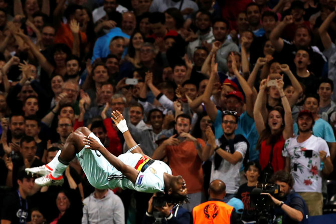 PHOTOS  How they celebrated at Euro 2016 - Rediff.com Sports 446207c04d3df