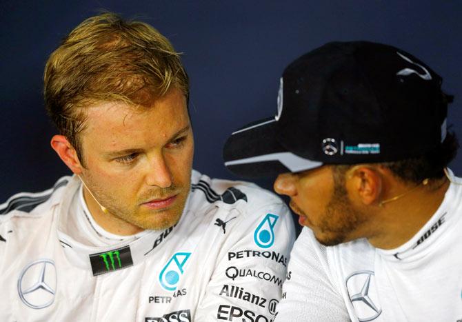 F1: 'Final warning' for Hamilton, Rosberg after Austria clash
