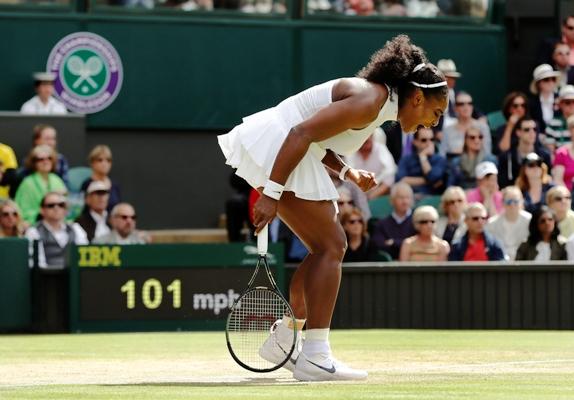 Rediff Sports - Cricket, Indian hockey, Tennis, Football, Chess, Golf - PHOTOS: Serena, Venus remain on course for final showdown