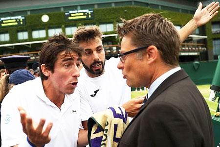 Wimbledon: Toilet break denied, players threaten to urinate on court