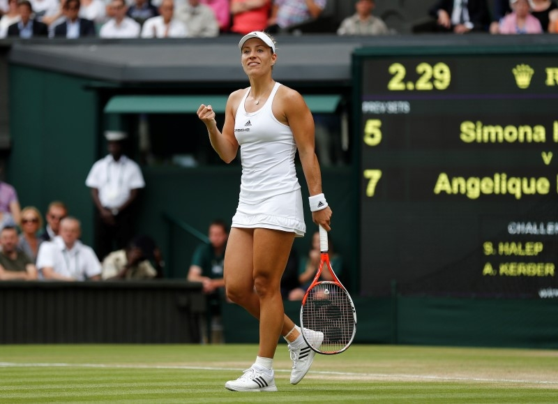 Rediff Sports - Cricket, Indian hockey, Tennis, Football, Chess, Golf - Kerber eyes victory after qualifying for WTA Tour Finals