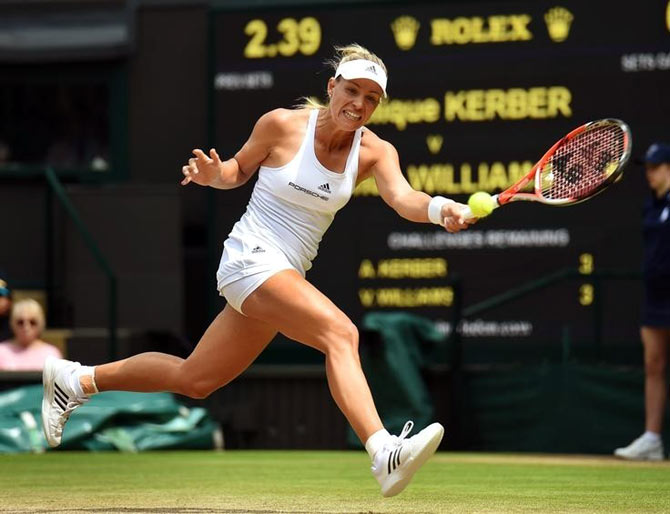 History calls as Serena and Kerber face off in Wimbledon final