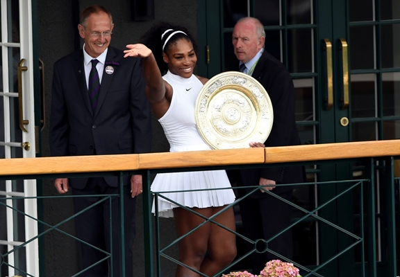 This one I'll always remember, promises forgetful Serena