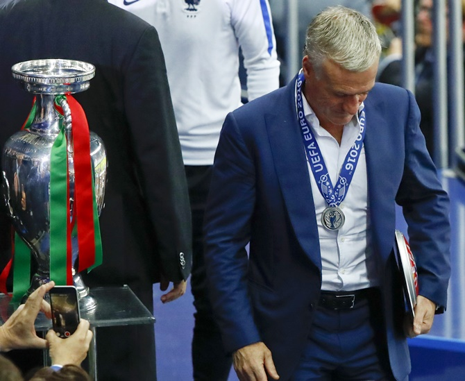 Rediff Sports - Cricket, Indian hockey, Tennis, Football, Chess, Golf - There are no words to comfort my players, says France coach