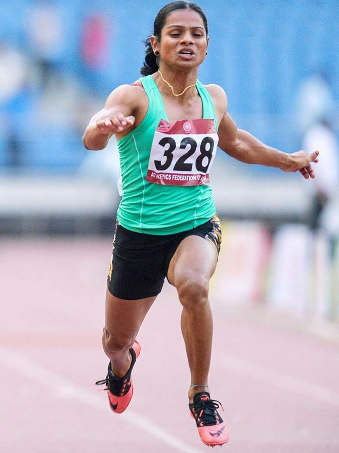 Rediff Sports - Cricket, Indian hockey, Tennis, Football, Chess, Golf - Dutee Chand: What a runner! What a life!
